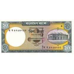 Bangladesh - Pick 48d - 20 taka - 2011 - Etat : NEUF
