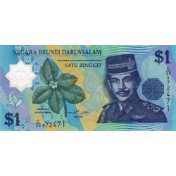 Brunei - Pick 22b - 1 dollar - 2007