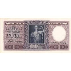 Argentine - Pick 260b - 1 peso - Commémoratif - Série A - 1955 - Etat : SPL-