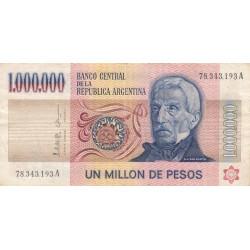 Argentine - Pick 310_1 - 1'000'000 pesos - Série A - 1979 - Etat : TB+ à TTB