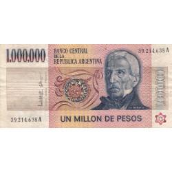 Argentine - Pick 310_3 - 1'000'000 pesos - Série A - 1983 - Etat : TB+