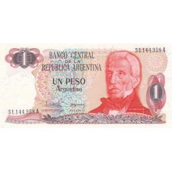 Argentine - Pick 311_1 - 1 peso argentino - Série A - 1983 - Etat : SPL