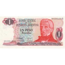 Argentine - Pick 311_2 - 1 peso argentino - Série A - 1983 - Etat : NEUF