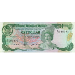 Belize - Pick 046c - 1 dollar
