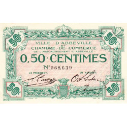 Abbeville - Pirot 1-1a - 50 centimes