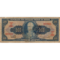 Brésil - Pick 186 - 50 centavos