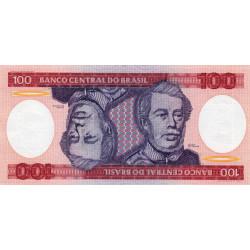 Brésil - Pick 198b - 100 cruzeiros - 1984 - Etat : NEUF