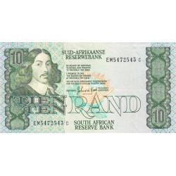 Afrique du Sud - Pick 120d - 10 rand