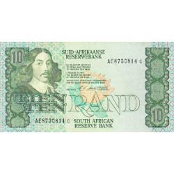 Afrique du Sud - Pick 120e - 10 rand