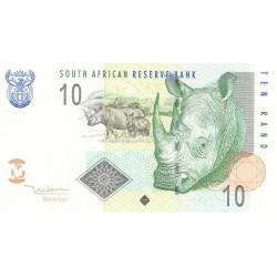 Afrique du Sud - Pick 128a - 10 rand