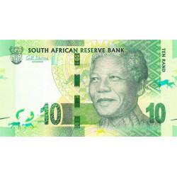 Afrique du Sud - Pick 133 - 10 rand