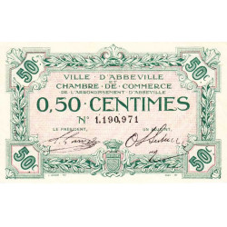 Abbeville - Pirot 1- non répertorié - 50 centimes - Etat : SUP