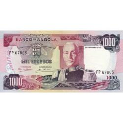 Angola - Pick 103 - 1'000 escudos - 1972 - Etat : SUP