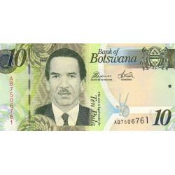 Botswana - Pick 30b - 10 pula