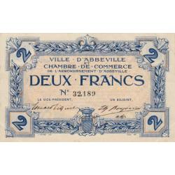 Abbeville - Pirot 1-5b - 2 francs - Sans date - Etat : SUP