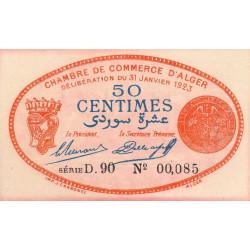 Algérie - Alger 137-25 - 50 centimes - Etat : SPL