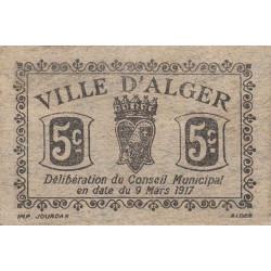 Algérie - Alger 05 - 5 centimes - Etat : TTB+