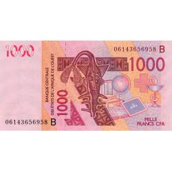 Bénin - Pick 215Bd - 1'000 francs - 2006