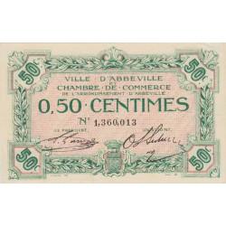 Abbeville - Pirot 1-8 - 50 centimes - Sans date - Etat : SUP