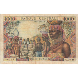 Centrafrique - Afrique Equatoriale - Pick 5f - 1'000 francs