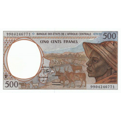 Centrafrique - Afr. Centrale - P 301Ff - 500 francs