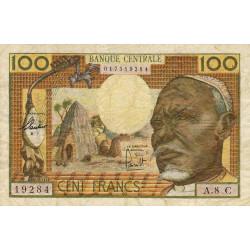 Congo (Brazzaville) - Afrique Equatoriale - Pick 3c - 100 francs - Etat : TB+