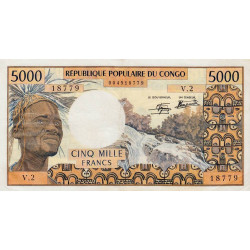 Congo (Brazzaville) - Pick 4c-1 - 5'000 francs - Etat : SUP