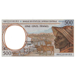 Congo (Brazzaville) - Afr. Centrale - P 101Cg - 500 francs