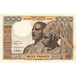 Etats Afrique Ouest - Pick 4 - 1'000 francs - Etat : SUP+