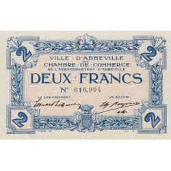 Abbeville - Pirot 001-17 - 2 francs