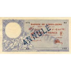 Djibouti - Pick 4B annulé - 20 francs - 1921 - Etat : TTB+