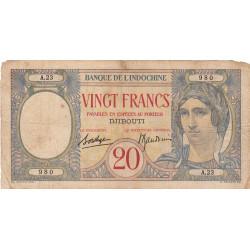 Djibouti - Pick 007A - 20 francs