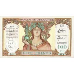 Djibouti - Pick 8 specimen - 100 francs - 1931 - Etat : pr.NEUF