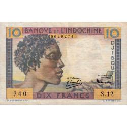 Djibouti - Pick 19 - 10 francs - 1946 - Etat : TTB