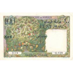 Djibouti - Pick 26 - 100 francs - 1952 - Etat : SUP