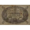 Martinique - Pick 6-2 - 5 francs - Etat : SUP