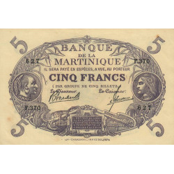Martinique - Pick 6-3 - 5 francs - Etat : SPL