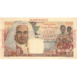 Martinique - Pick 31 - 100 francs - Etat : SUP