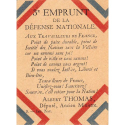 Emprunt de la Défense Nationale - 1917