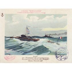 Escadrille de Sous-Marins de Bretagne - Emprunt de la Libération - 1918
