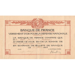 Haute-Savoie - Versement d'or pour la Défense Nationale - 1915
