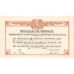 Yvelines - Versement d'or pour la Défense Nationale - 1916