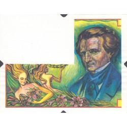 Berlioz - Vignette originelle - DIS-02-C variété 1 - Etat : SUP
