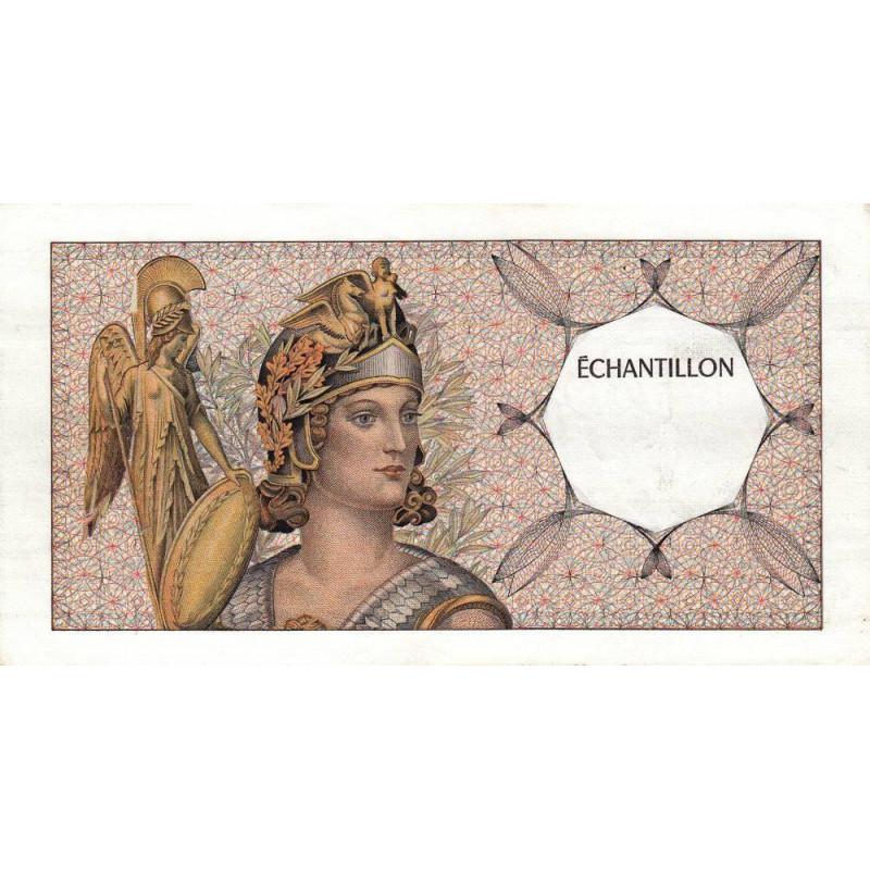 Athena à gauche - Format 100 francs DELACROIX - DIS-03-A-02 - Etat : TTB+