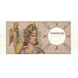 Athena à gauche - Format 200 francs MONTESQUIEU - DIS-03-C-03 - Etat : TTB