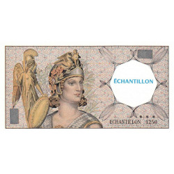 Athena à gauche - Format 50 francs QUENTIN DE LA TOUR - DIS-03-F-01 - Etat : NEUF