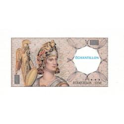 Athena à gauche - Format 500 francs PASCAL