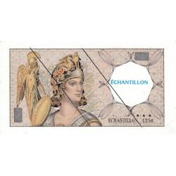 Athena à gauche - Format 100 francs DELACROIX - DIS-03-H-02 - Etat : SUP