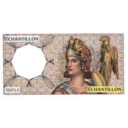 Athena à droite - Format 50 francs QUENTIN DE LA TOUR - DIS-04-A-02 - Etat : SUP+