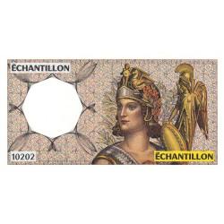 Athena à droite - Format 200 francs MONTESQUIEU - DIS-04-A-04 - Etat : NEUF